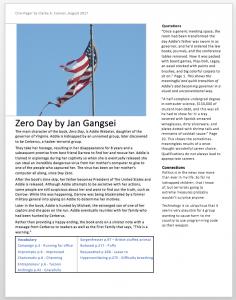 Zero Day by Jan Gangsei – Musings & Insights